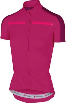 Castelli Ispirata Full Zip Jersey - Short Sleeve