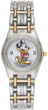Disney Disney's Mickey Mouse Women's Two Tone Watch
