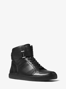 Michael Kors Anthony Leather High-Top Sneaker