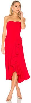 Amanda Uprichard Fernanda Strapless Dress