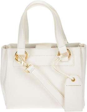 Isaac Mizrahi Live! Nolita Lamb Leather Top Handle Satchel Handbag