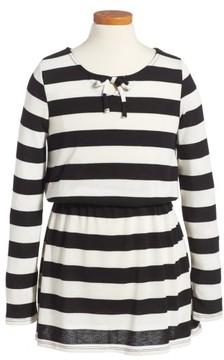 Splendid Girl's Stripe Knit Dress