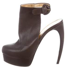 Walter Steiger Leather Platform Booties