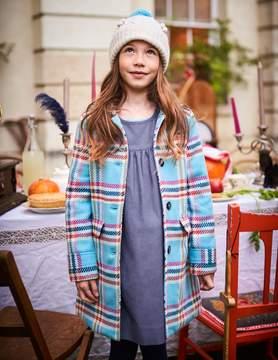 Boden Check Wool Coat