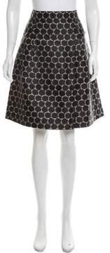 Christian Lacroix Jacquard Knee-Length Skirt w/ Tags