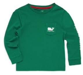 Vineyard Vines Toddler's, Little Boy's & Boy's Long Sleeve Vintage Whale Sweater
