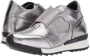 Love Moschino Platform Sneaker with Heart Detail