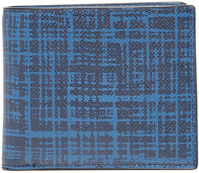 Michael Kors Harrison Brushed Grid Leather Billfold