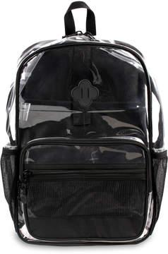 J World Clear & Black Backpack