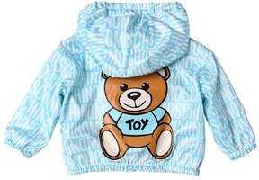 Moschino Bear Logo Printed Hooded Nylon Jacket