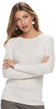 Apt. 9 Women's Embellished Yoke Sweater