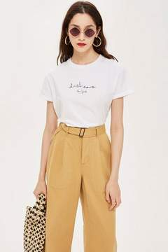 Topshop New York Skyline T-Shirt