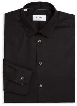 Eton Super Slim Solid Dress Shirt