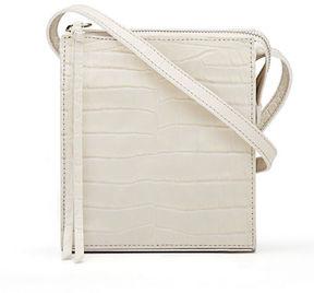 Elizabeth and James Sara Suede Zip Tassel Crossbody Bag