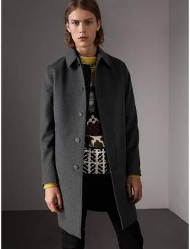 Burberry Wool Cashmere Blend Car Coat with Detachable Gilet