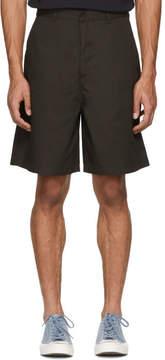 Acne Studios Brown Port Shorts