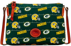 Dooney & Bourke Green Bay Packers Nylon Crossbody Pouchette - GREEN - STYLE
