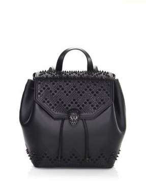 Bvlgari x Nicholas Kirkwood Serpenti Forever Studded Leather Drawstring Backpack