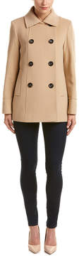 Cinzia Rocca Wool & Cashmere-Blend Short Coat