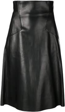 Alexander McQueen A-line midi skirt