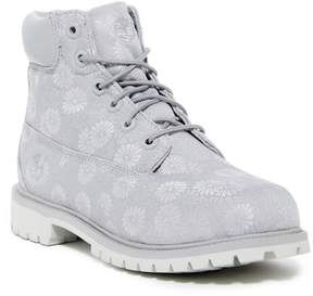 Timberland Classic Floral Waterproof Boot (Bid Kid)
