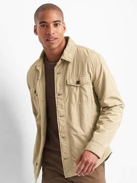Gap Fleece-lined shirt jacket