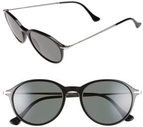 Persol Men's 51Mm Polarized Sunglasses - Black