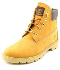 Timberland 6 Basic Waterproof Youth Round Toe Leather Tan Work Boot.