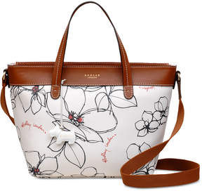 Radley London Floral Zip-Top Small Satchel