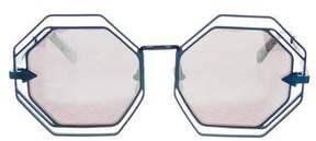 Karen Walker Emmanuel Oversize Sunglasses