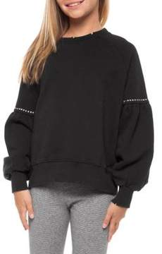 Dex Girl's Studded Sweater