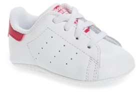 adidas Infant Girl's 'Stan Smith' Crib Sneaker