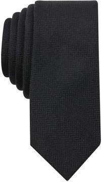 Bar III Men's Herringbone Skinny Tie, Created for Macy's