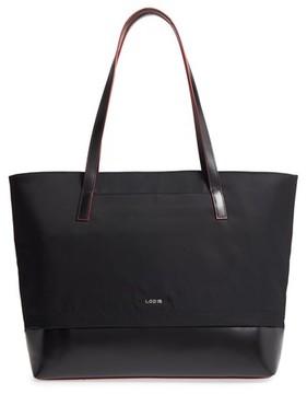 Lodis Kate - Fabia Under Lock & Key Nylon & Leather Tote - Black