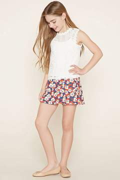 Forever 21 Girls Floral Skirt (Kids)