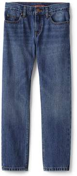 Lands' End Lands'end School Uniform Boys Iron Knee Slim Fit Jeans