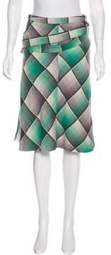Matthew Williamson Wool Knee-Length Skirt