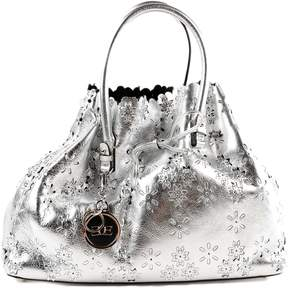 Ermanno Scervino Medium Floral Shopper Bag