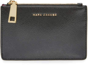 Marc Jacobs Top Zip Multi Wallet - BLACK/BERRY - STYLE