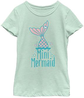 Fifth Sun Mint 'Mini Mermaid' Tee - Girls