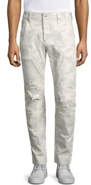 G Star 5620 3D Slim Fit Zip Knee Jeans
