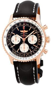Breitling Navitimer 01 Chronograph Automatic Chronometer Black Dial Men's Watch