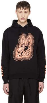 McQ Black Bunny Be Here Now Big Hoodie