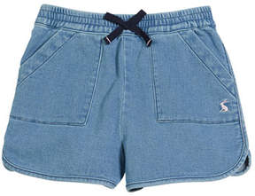 Joules Denim Drawstring Shorts, Size 3-10