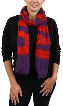 Moschino Scr11235/1 Purple Signature Scarf.