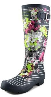 Joules Welly Print Women Us 8 Green Rain Boot.