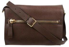 Tom Ford Grained Leather Messenger Bag