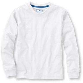 L.L. Bean Boys' L.L.Bean Unshrinkable Shirt, Long-Sleeve