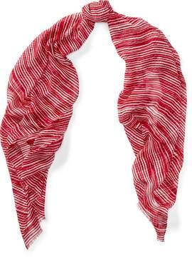 Ralph Lauren Striped Modal Scarf