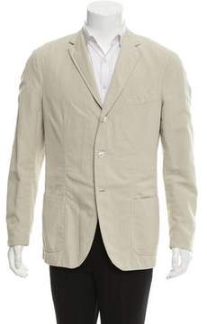 Michael Bastian Woven Three-Button Blazer